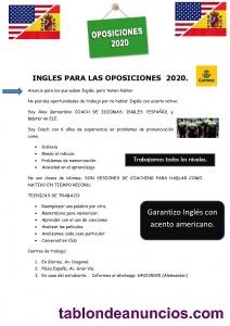 Oposiciones 2020-2021