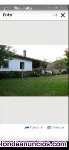 Se vende casa  con jardin en Puentevega(Pravia), tiene horreo ,cuadra,pajar ...