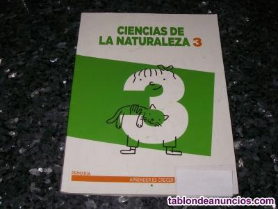 Libro de texto 3º primaria Ciencias de la Naturaleza