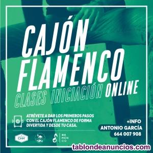 Clases Iniciación Cajón Flamenco