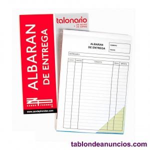 Lote 10 talonarios  albaranes DIN-A5