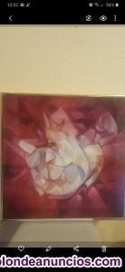 Cuadro pintura Oleo Manuel Coronado