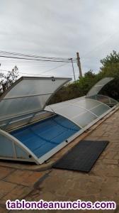 Vendo cubierta para piscina