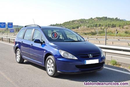 Peugeot 307SW 112cv 1.6i Clim plus. Se entrega revisado y garantizado