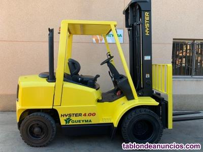 Carretilla diesel hyster 4.000 kg
