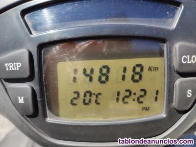 Vendo moto Piaggio X9 Evo de 125cc.