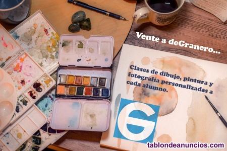 Clases de dibujo, pintura y fotografía en Madrid.