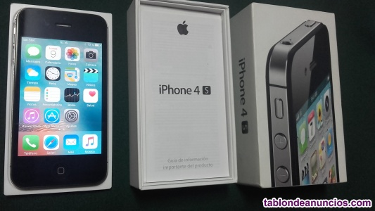 IPhone 4S, 64 GB, Negro