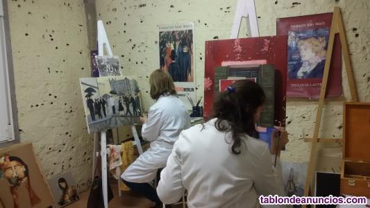 Clases de dibujo y pintura taller sonia alonso