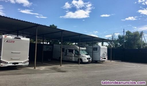 Alquiler de plazas camper, caravanas... Descubiertas y cubiertas con trastero