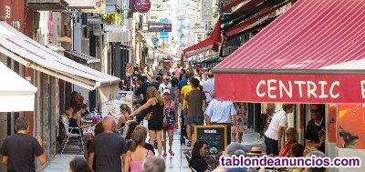 Traspaso restaurante en calle comercial principal calella