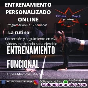 Entrenamiento Personalizado Online
