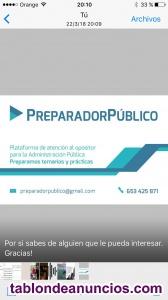 Oposiciones Auxiliar Administrativo Universidad de Granada y Almería.