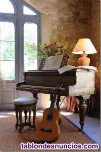 Piano Batería Guitarra Violín Canto Lenguaje musical
