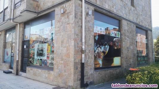 Alquiller de local y garaje 5 plazas por otros 150 €