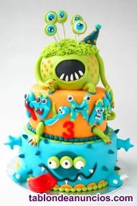 Tartas falsas o fake cake artísticos
