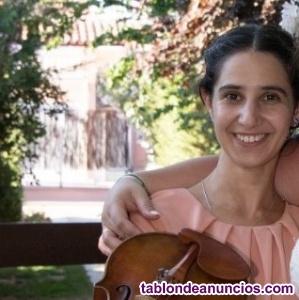 Clases de violín, viola, piano y lenguaje musical