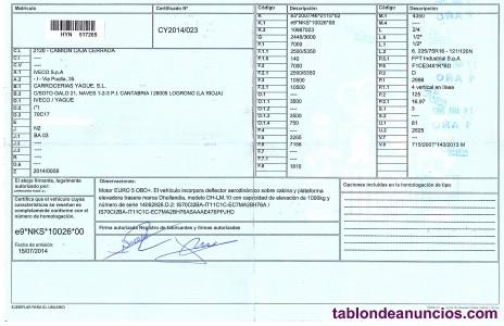 Vendo IVECO DAILY C17 70