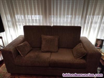 2 sofas seminuevos en muy buen estado de conservacion