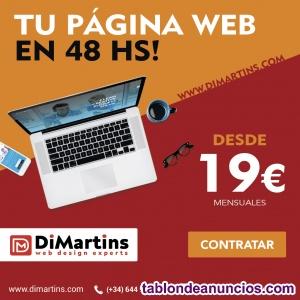 Paginas Webs - Tiendas Online - desde19€