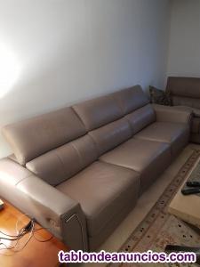 Se vende conjunto de sofás 3plazas+ 2 plazas