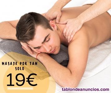 Masaje por 19€