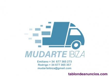 """Transportes y Mudanzas """"Mudarte Ibiza""""  Presupuestos al +34 677 365 273"""