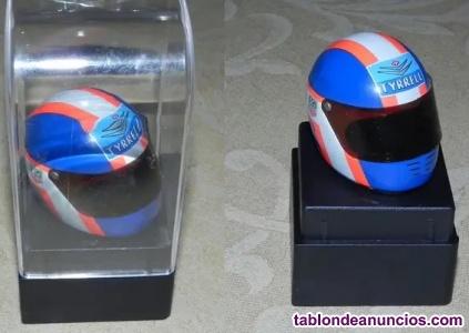 Casco F1 Escala 1:12 Equipo Tyrrell