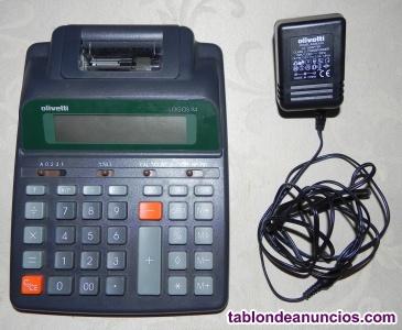 Calculadora Olivetti logos 94 y cargador