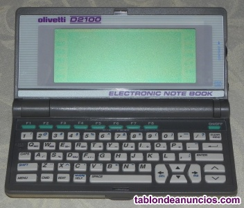 Agenda Electronica Olivetti modelo D2100