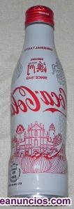 Botella coca cola de aluminio de Japón