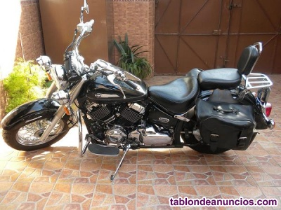 Vendo moto yamaha drag star classic 650 por no usar