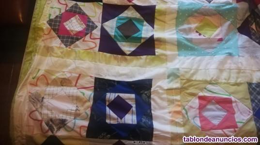 Mantas y colchas patchwork