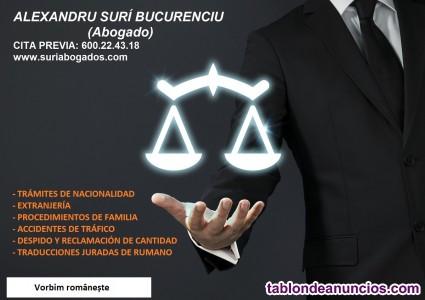 Avocat romÂn / abogado rumano