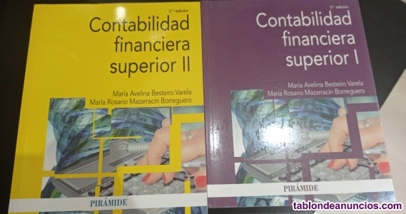 Contabilidad financiera superior 2 curso