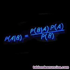 Clases de matemáticas particulares (Bachillerato)