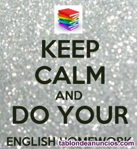Hago deberes de Primaria, Secundaria y A1, A2, B1 y B2 Inglés