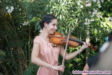 Violinista para bodas y eventos