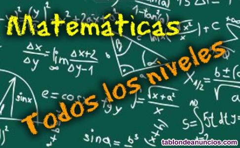 Clases de matemáticas individuales