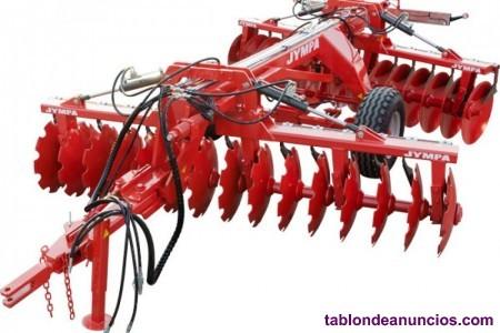 Grada de disco arrastrada para grandes tractores jympa