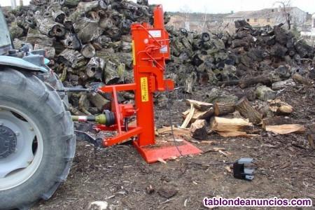 Astilladora de leña vertical