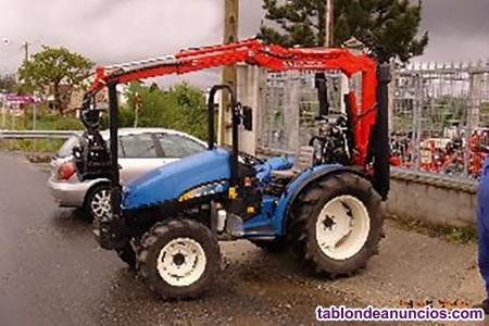 Mini grúa para tractor