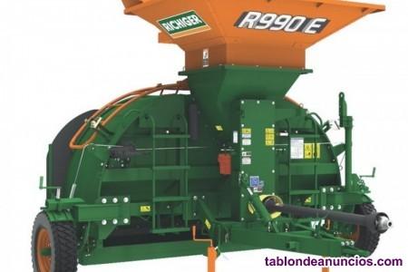 Embolsadora de grano seco r990, de 9 pies