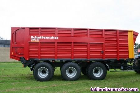 Remolque agrícola schuitemaker siwa 780