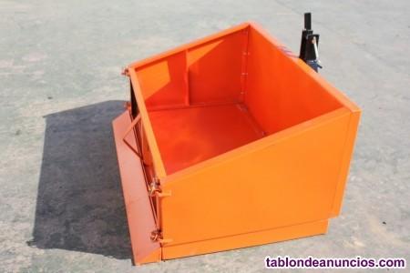 Caja basculante para mini tractores