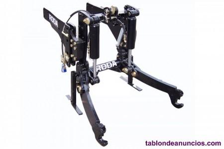Elevador tripuntal frontal roda