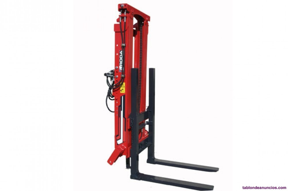 Elevador porta-palets roda duplexvt