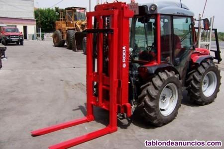 Elevador porta-palets roda trasero