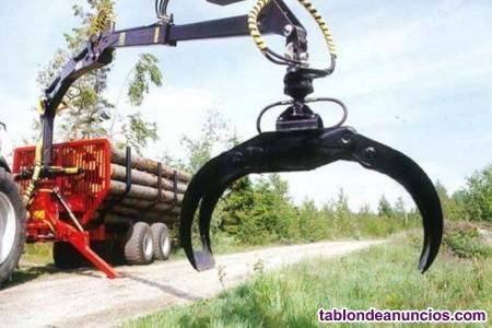 Zarpa para trabajos forestales roda