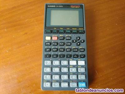 Calculadora casio fx-7300g  graphics icon menu calculator años 90 - no funciona